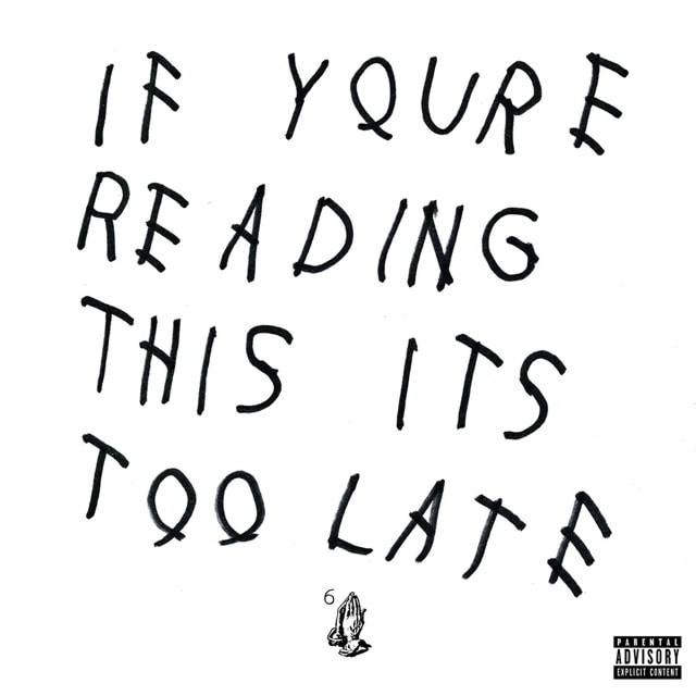 If You're Reading This It's Too Late - 1