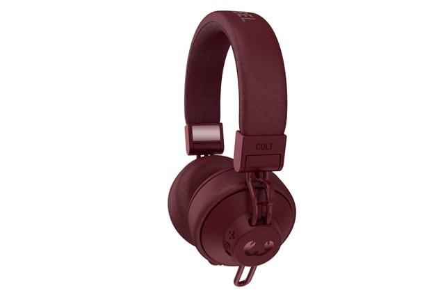 Fresh N Rebel Cult Ruby Red Bluetooth Headphones - 4