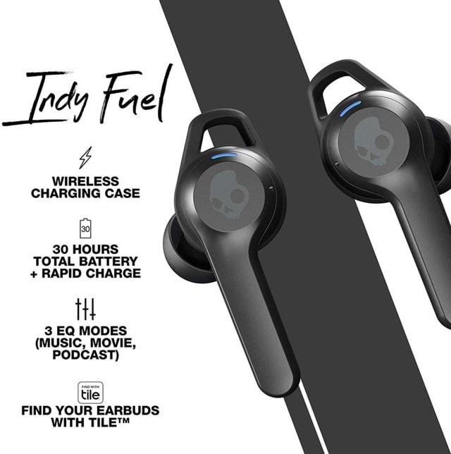 Skullcandy Indy Fuel Chill Grey True Wireless Earphones - 4
