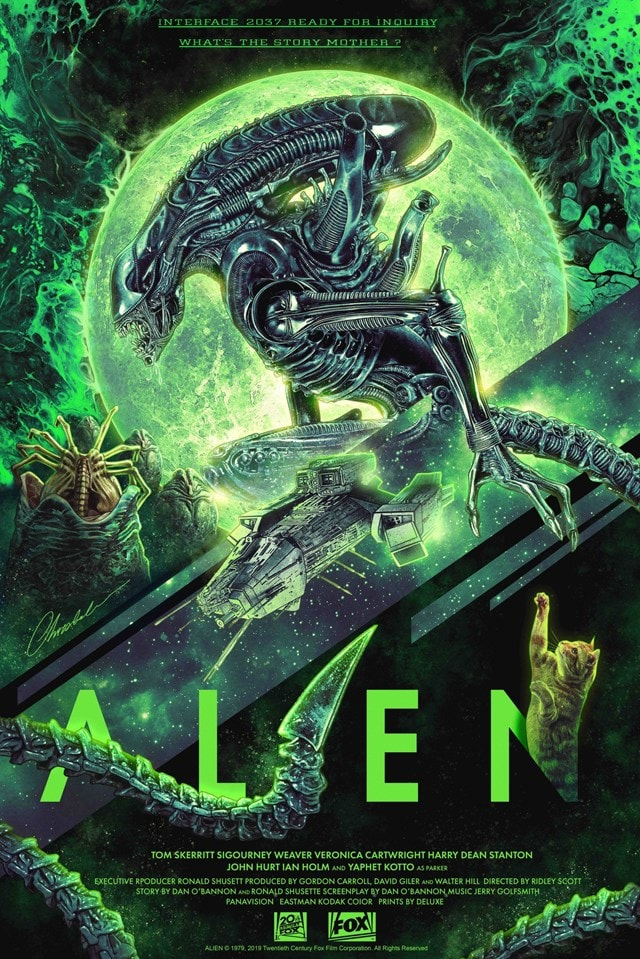 Alien: Limited Edition Art Print - 1