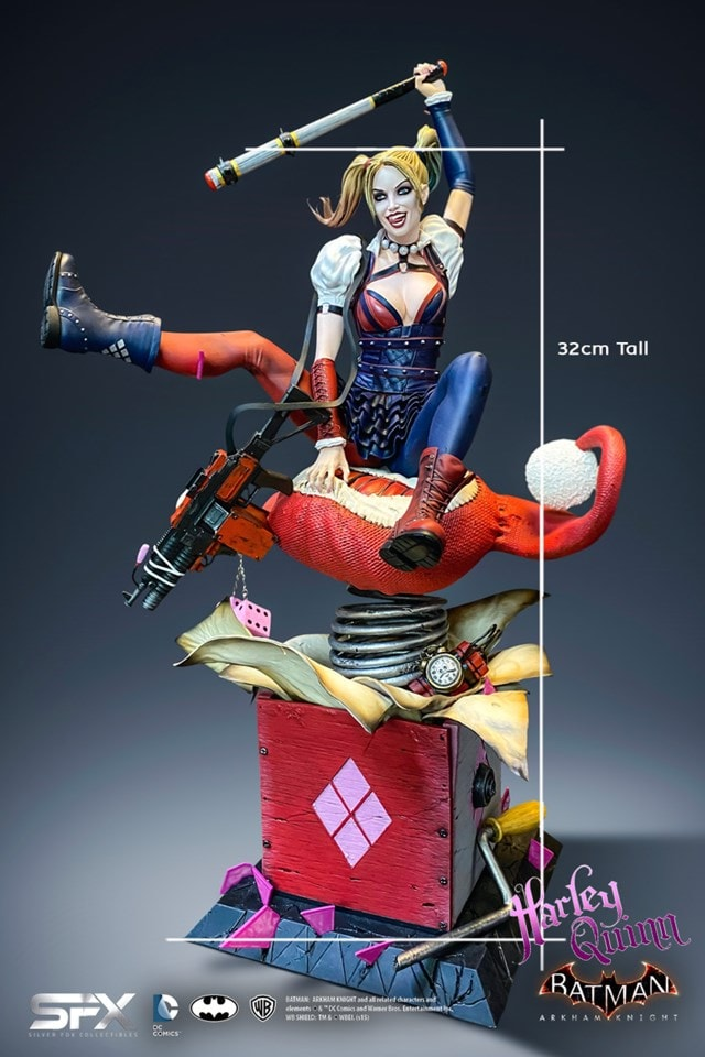 Harley Quinn: Arkham Knight Collectible Statue - 3