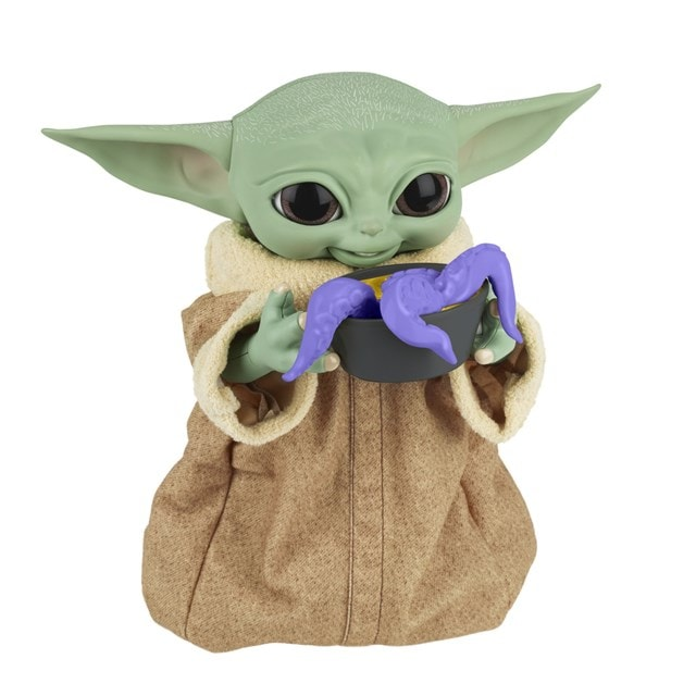 Star Wars Galactic Snackin' Grogu Integrated Play Soft Toy - 8