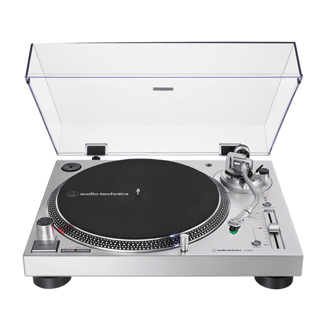 Audio Technica AT-LP120X Silver Direct Drive Turntable - 1