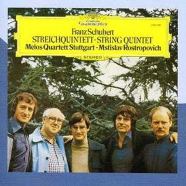 String Quintet (Melos Quartett, Rostropovich) - 1