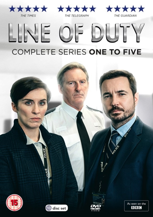 Line of Duty: Complete Series One to Five - 1
