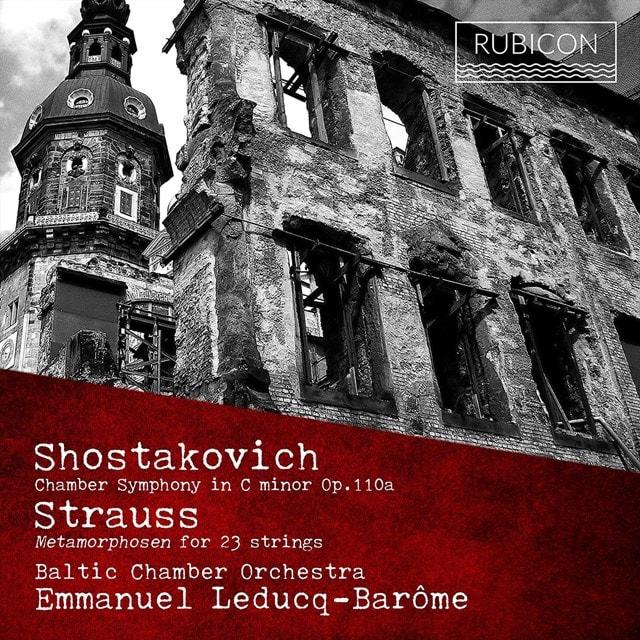 Shostakovich: Chamber Symphony in C Minor, Op. 110a/... - 1