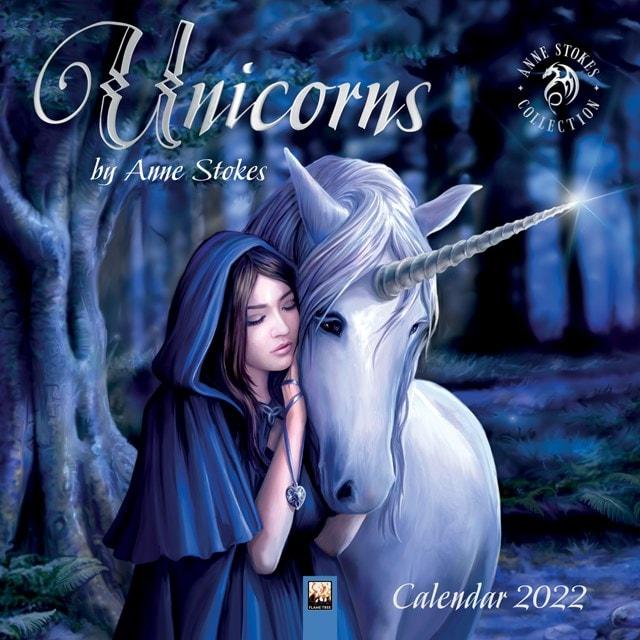 Unicorns: Anne Stokes Square 2022 Calendar - 1