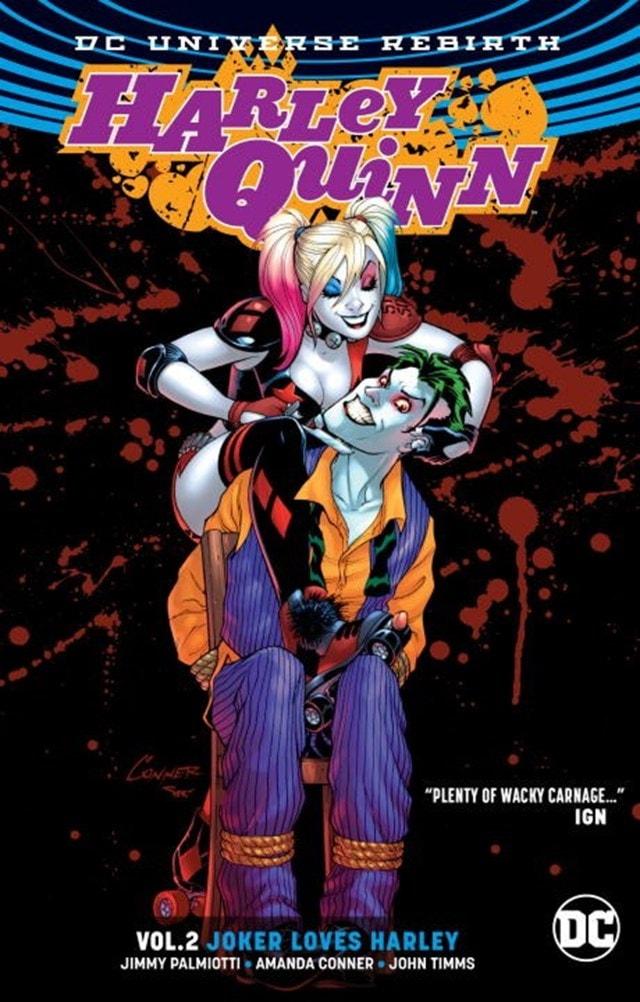 Harley Quinn: Vol.2: Joker Loves Harley (Rebirth) - 1
