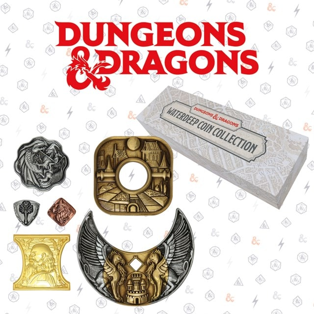 Dungeons & Dragons Replica Coin Set - 1