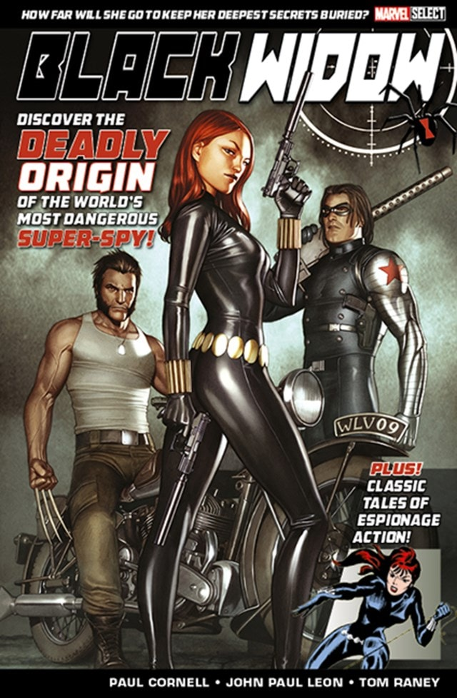 Black Widow: Deadly Origin Marvel Comics - 1