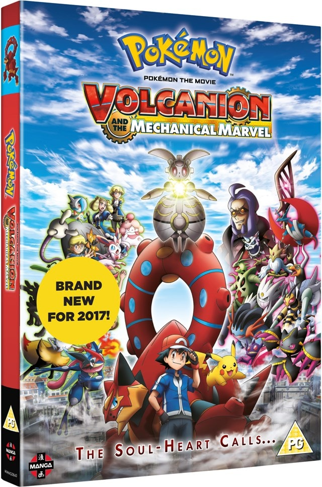 Pokemon the Movie: Volcanion and the Mechanical Marvel - 2