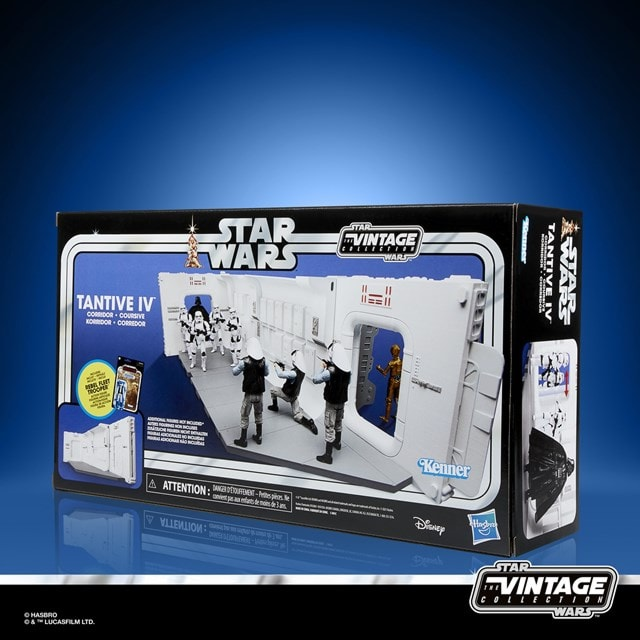 Star Wars: The Vintage Collection: A New Hope Tantive IV Hallway Playset - 2