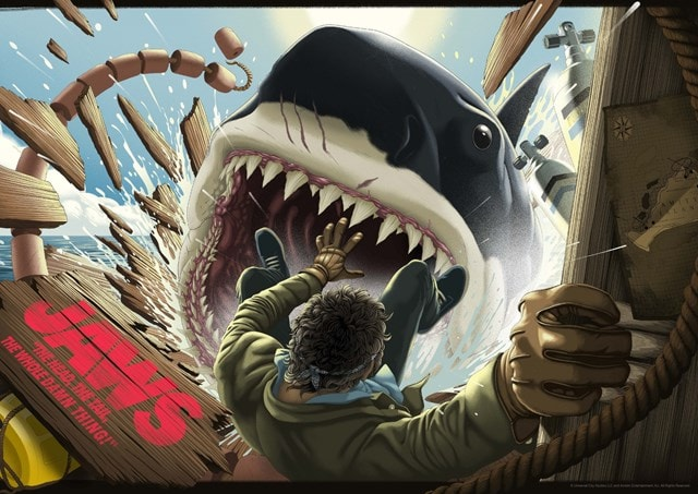 Jaws: Head, The Tail Limited Edition Print - 1