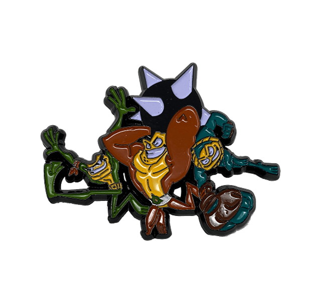 Battle Toads: Limited Edition Pin Badge - 2