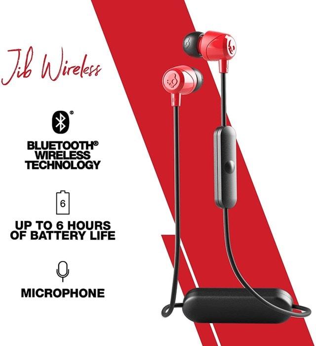 Skullcandy Jib BT Black/Red Bluetooth Earphones - 2
