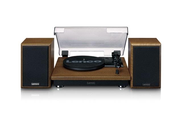 Lenco LS100 Wood Turntable & Speakers - 4