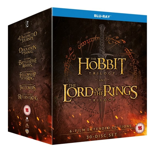 The Hobbit Trilogy/The Lord of the Rings Trilogy: Extended... - 2
