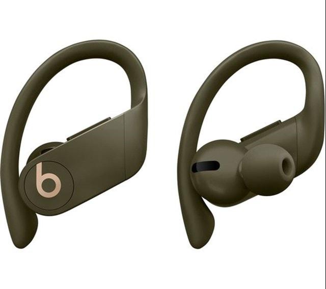 Beats By Dr Dre Powerbeats Pro True Wireless Moss Green Earphones - 2