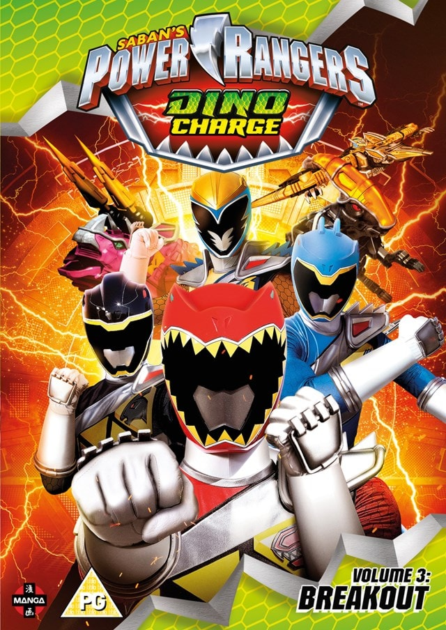 Power Rangers Dino Charge: Volume 3 - Breakout - 1