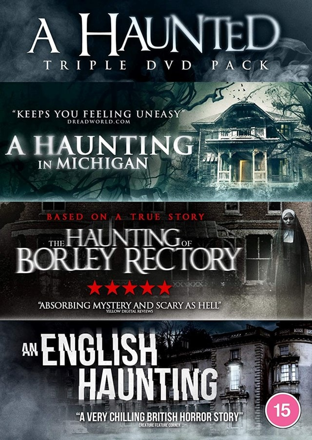 A Haunted Triple: The Haunting of Borley Rectory/An English... - 1