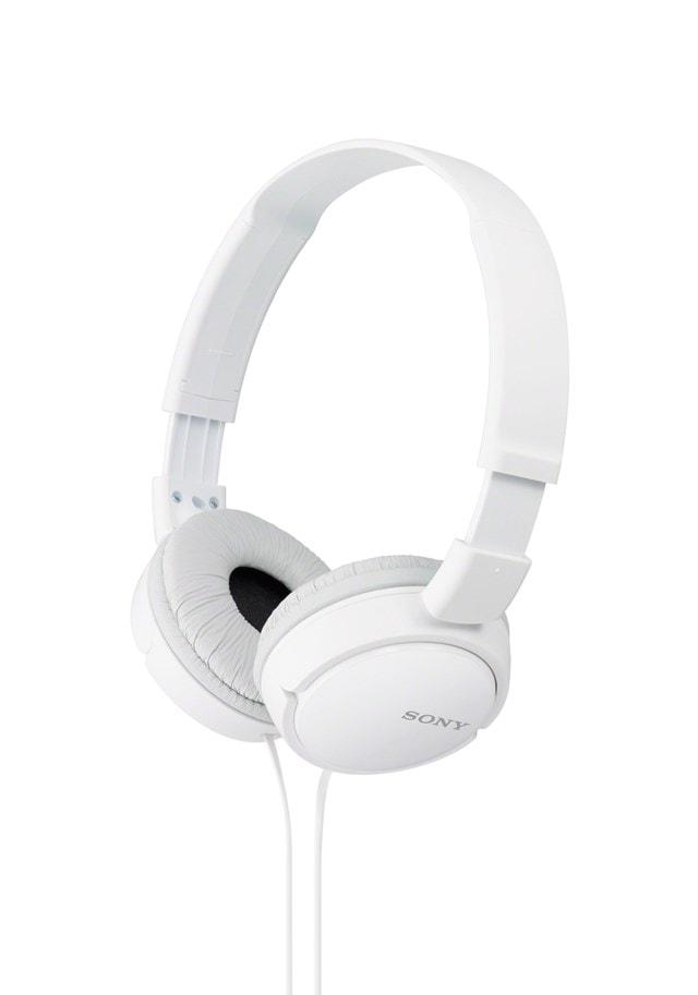 Sony MDRZX110 White Headphones - 1