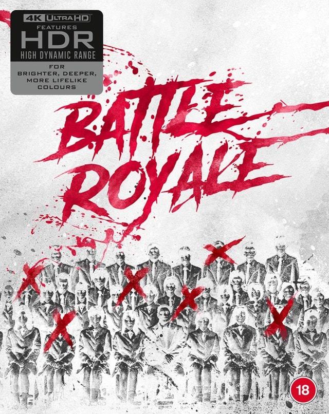Battle Royale: Limited Edition 4K Ultra HD Blu-ray - 2