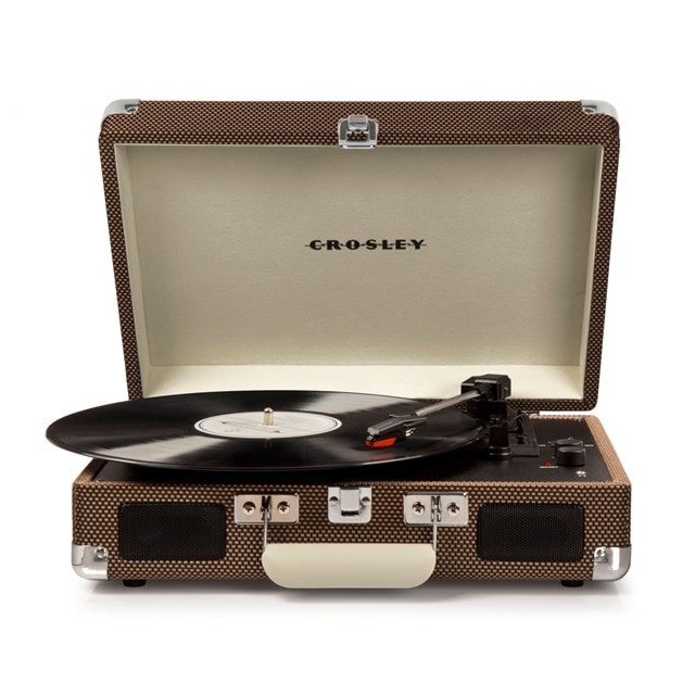 Crosley Cruiser Deluxe Tweed Turntable - 2