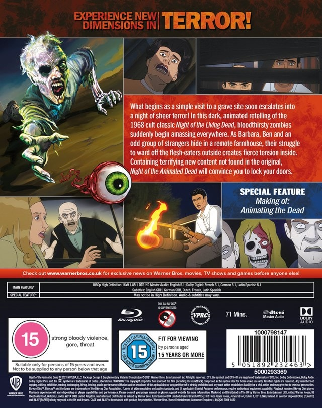Night of the Animated Dead (hmv Exclusive) - 2