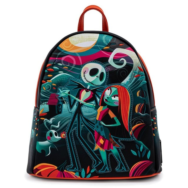 Nightmare Before Christmas: Simply Meant To Be Mini Loungefly Backpack - 3
