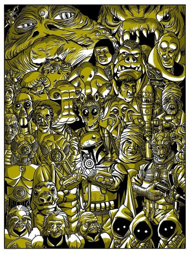 Star Wars: Scum And Villainy Limited Edition Art Print - 1