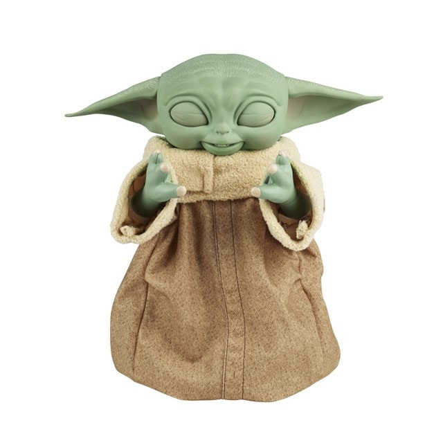 Star Wars Galactic Snackin' Grogu Integrated Play Soft Toy - 3
