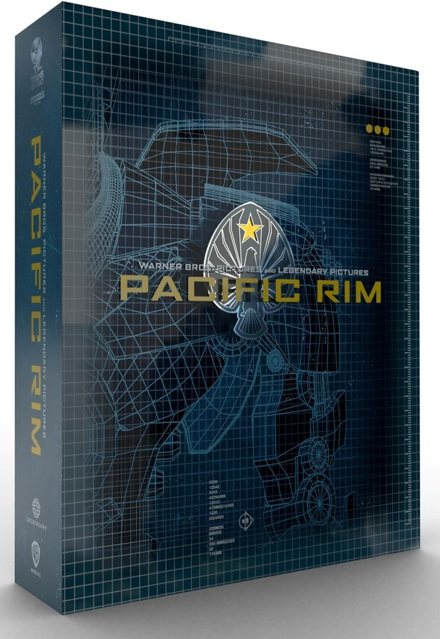 Pacific Rim Titans of Cult Limited Edition 4K Steelbook - 2