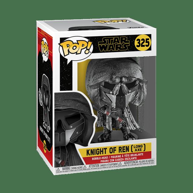 Chrome Knight of Ren: Long Axe (325) Rise Of Skywalker: Star Wars Pop Vinyl - 2