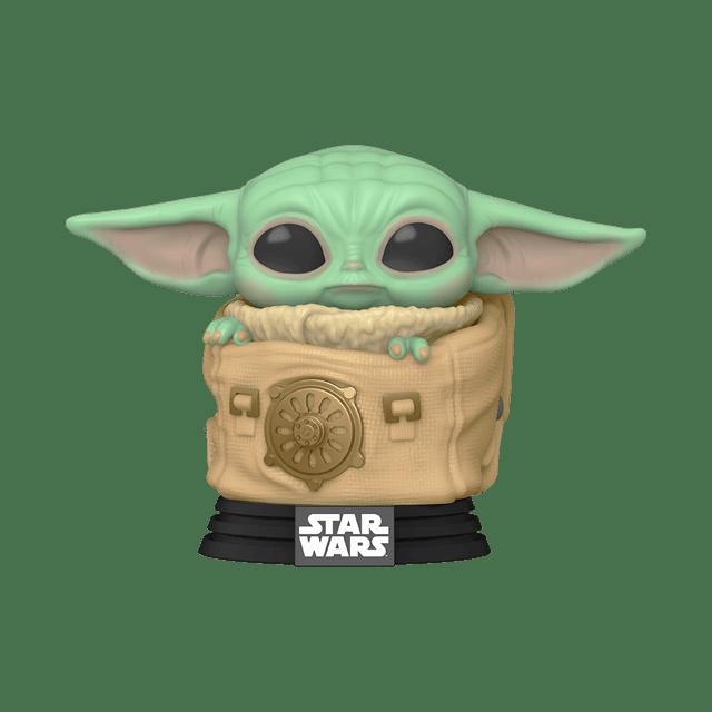 The Child (Baby Yoda) in Bag (405) The Mandalorian Star Wars Pop Vinyl - 1