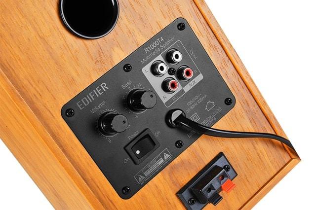 Edifier R1000T4 2.0 Wood Active Bookshelf Speakers - 3