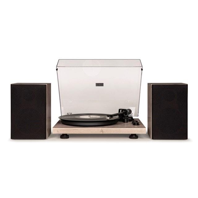 Crosley C62 Grey Turntable & Speakers - 1