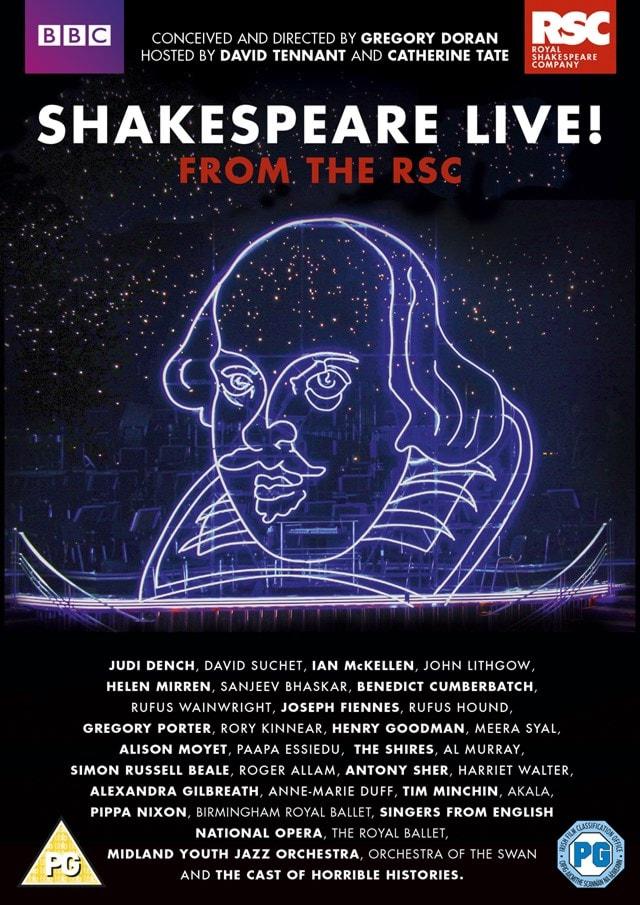 Shakespeare Live!: Royal Shakespeare Theatre - 1