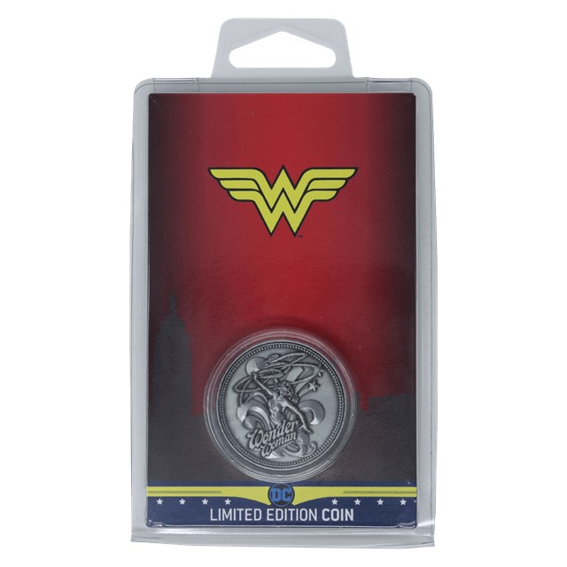 Wonder Woman: DC Comics Limited Edition Collectible Coin - 4