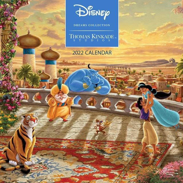 Disney Dreams Collection: Thomas Kinkade Studios Square 2022 Calendar - 1