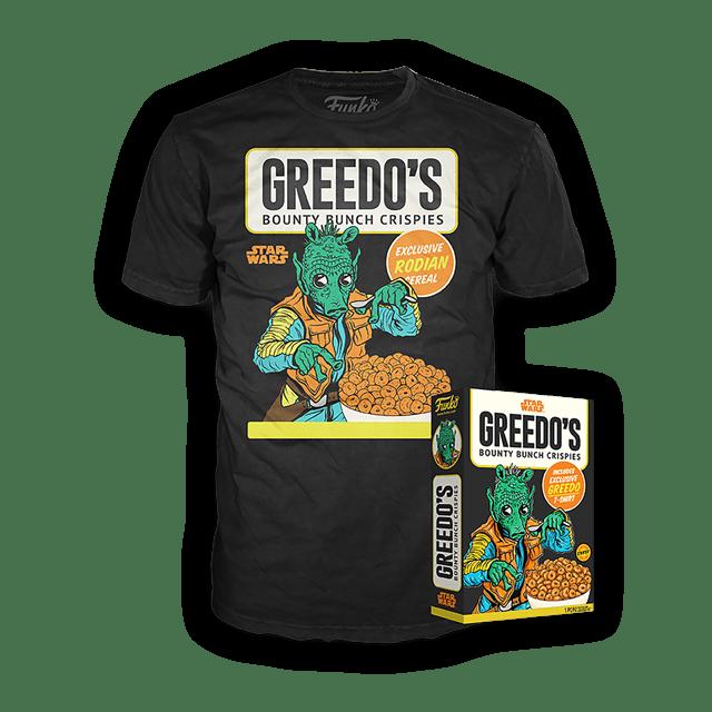Greedo's: Star Wars Funko Cereal Box Tee (Small) - 1