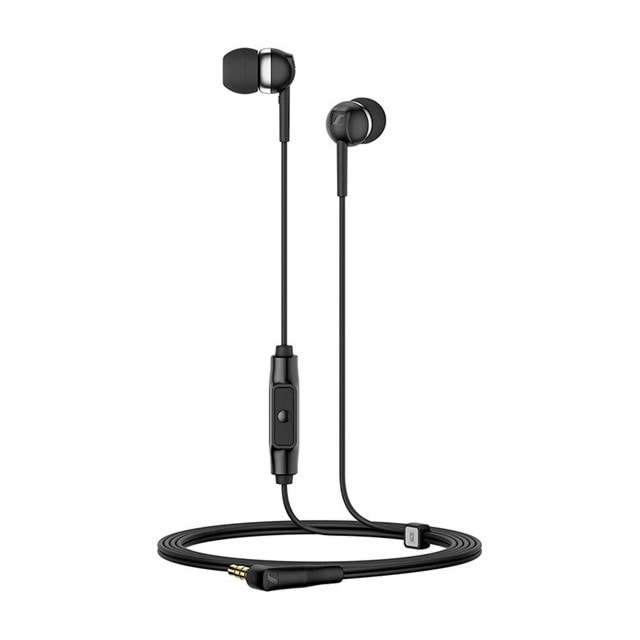 Sennheiser CX 80S Black Earphones w/Mic - 1