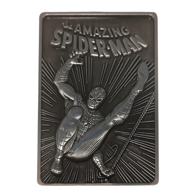 Spider-Man: Marvel Limited Edition Ingot Collectible - 3