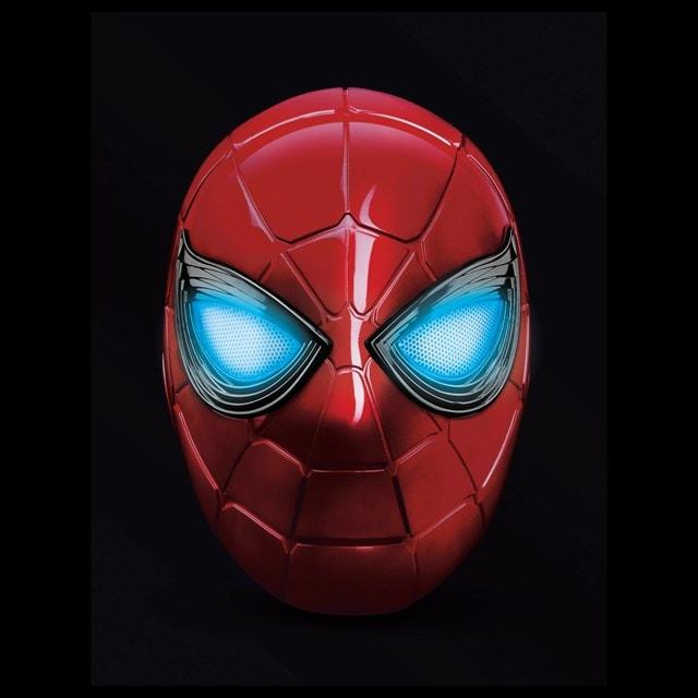 Iron Spider: Spider-Man Hasbro Marvel Legends Series Electronic Helmet - 1