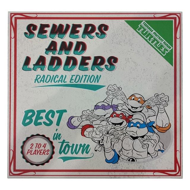 Teenage Mutant Ninja Turtles: Sewers & Ladders Board Game - 3