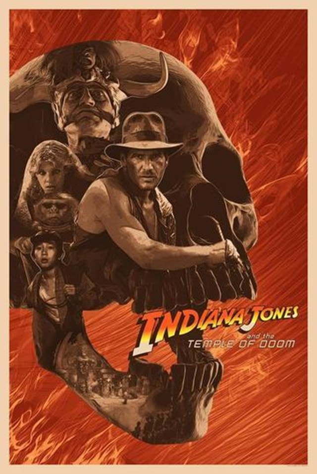 Indiana Jones: Cover Your Heart Devin Schoeffler Limited Edition Lithograph Print - 1