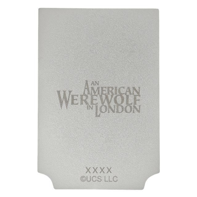 American Werewolf In London: Pub Sign Limited Edition Silver Plated Replica Collectible - 6