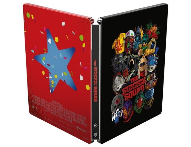 The Suicide Squad (hmv Exclusive) Limited Edition 4K Ultra HD Steelbook - 2