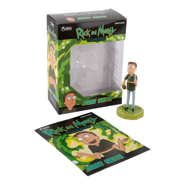 Jerry: Rick And Morty 1:16 Figurine With Magazine: Hero Collector - 4