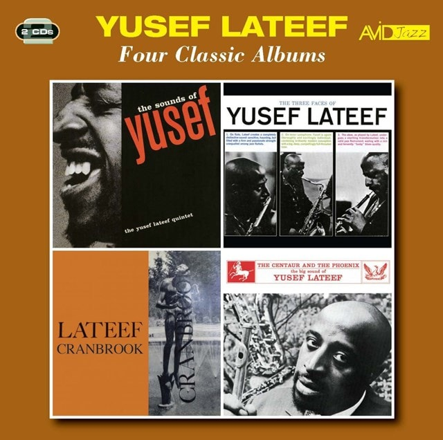Four Classic Albums: Sounds of Lateef/Three Faces/Cranbrook/Centaur and the Phoenix - 1