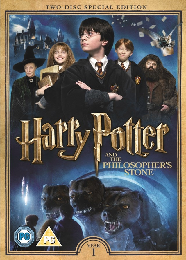 Harry Potter and the Philosopher's Stone | DVD | Free shipping over £20 |  HMV Store